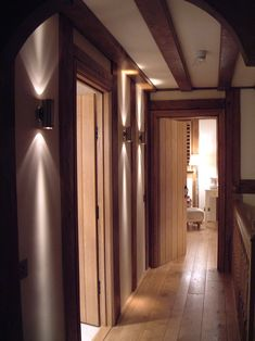 Corridor Lighting design by John Cullen Lighting.