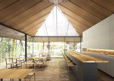 Kengo Kuma Designs Cultural Village for Portland Japanese Garden,Tea Cafe. Image © Kengo Kuma & Associates