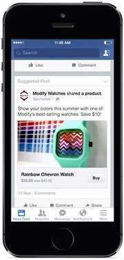 MediaPost Publications Facebook Confirms Testing Buy Button In Ads