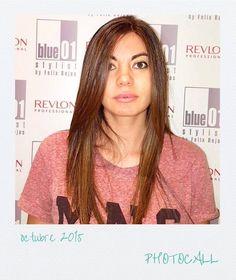 Un pelo precioso con sus nuevos reflejos de color miel. Bravo Marta!!! #blue01stylist
