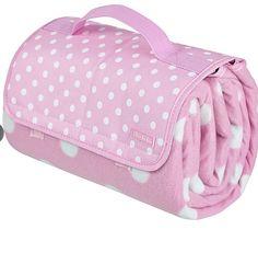 pink picnic blanket
