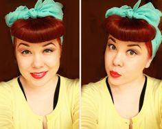 Cute head scarf    Model: Radmila Rocky Zombie  http://www.facebook.com/rrockyzombie