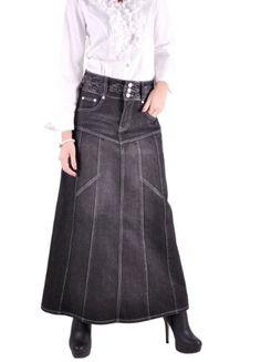 Style J Modest Princess Black Denim Skirt-Black-28 Style J,http://www.amazon.com/dp/B00A9V8M5A/ref=cm_sw_r_pi_dp_fWI6qb0NSR8DF984