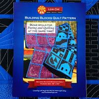 Building blocks quilt along videos - learn different quilting designs for each block