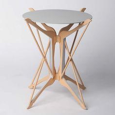 HANGER TABLES: upcycled hangers by Federica Sala | Please subscribe to my weekly newsletter at upcycledzine.com ! #upcycle