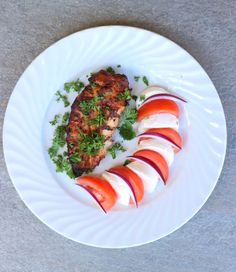 lindastuhaug | Marinert kyllingfilêt med tomat & mozarella - lindastuhaug