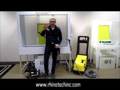 Pressure Washers by RhinoTech for all home, studio and commercially based businesses, craftsters and hobbyists!