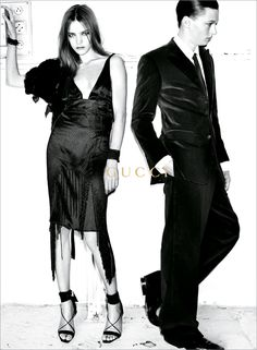 love this ad kind of vampire- esque FW 02/03 by Testino and CR, as always