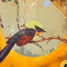 blaine fontana w thomas doyle Bird Artwork, Ap Art, Painting Inspiration, Design Inspiration, Artist Painting, Medium Art, Art Google, Collage Art, Cool Art
