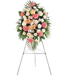 Order Gentle Thoughts Spray funeral from Felly's Flowers, your local Madison florist. Send Gentle Thoughts Spray funeral for fresh and fast flower delivery throughout Madison, WI area. Funeral Flower Arrangements, Funeral Flowers, Church Flowers, Wedding Flowers, Funeral Sprays, Summer Wedding Guests, Pink Carnations, Flower Company, Sympathy Flowers
