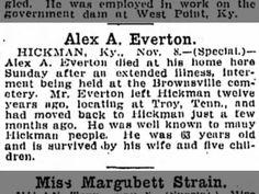 Alex A Everton obit