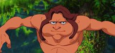 When Tarzan finally got his wisdom teeth taken out. | 27 Disney Cartoons Paused At Exactly The Right Moment