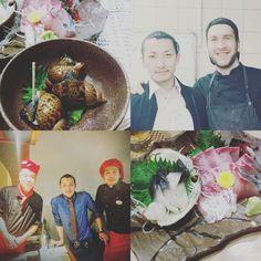 My Teppan and Kaiseki Chefs Otsuka San thx for this beautiful time and all waht you teach me .....  Teppanyaki Head Chef Toyoda Chef Otsuka SanTeppan and Kaiseki Sous Chef Machiko #kaiseki #teppanyaki #japanesefood #cheflife #sashimi #teppanyakibeef #entrecote by richard.chris