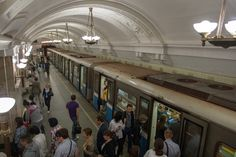 Στάση μετρό Novokuznetskaya Moscow Metro, World Famous, Most Beautiful