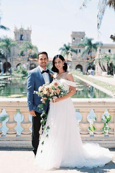 Fancy Southern Wedding Inspiration at Balboa Park in San Diego – iamlatreuo Photo 49