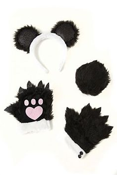 panda costume Halloween Outfits, Holidays Halloween, Halloween Make Up, Panda Costumes, Cute Costumes, Panda Party, Bear Party, Halloween In Ireland, Panda Outfit