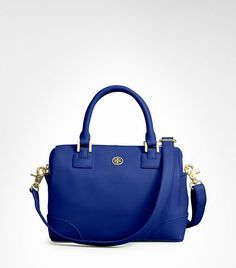 I am so in love with this new Spring bag at Tory Burch (Robinson mini satchel).  The color is fabulous and will really add so much to your wardrobe.  The price tag is $495 so it would be a bit of an investment, but most likely very worth it!  :)