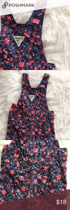 """OSH KOSH Baby Overalls Great Used Condition • size 24 Months • Length 27"""" x Inseam 11.5"""" • make an offer today ❣ Osh Kosh Bottoms Overalls"""