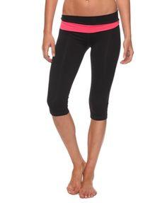 Asymmetrical Crop Athletic Pant - StyleSays