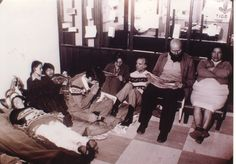 Huelga de hambre que tumbó a Banzer (1978). Están Domitila Chungara, Luis Espinal, Xavier Albó y otros activistas