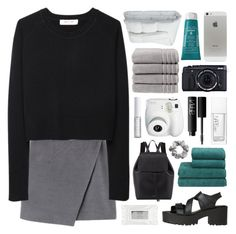 """if you respect me, don't protect me"" by feels-like-snow-in-september ❤ liked on Polyvore featuring Organic by John Patrick, Windsor Smith, Christy, Sisley - Paris, Frette, Mansur Gavriel, NARS Cosmetics, Stila, Lord & Berry and H&M"