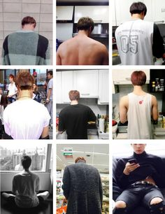 Jin's big broad shoulders again & again & again... and then that last shot-.-