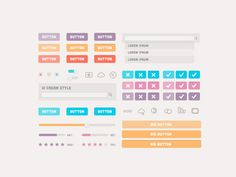 Ui cream style #web #website #design