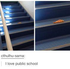 Oh public school, you so random!
