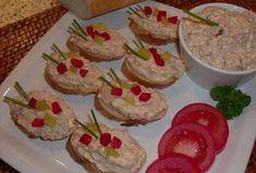 Pomazánka na chlebíčky - Recepty.cz - On-line kuchařka Granola, Guacamole, Pesto, Diy Wedding, Muffin, Food And Drink, Treats, Snacks, Cookies