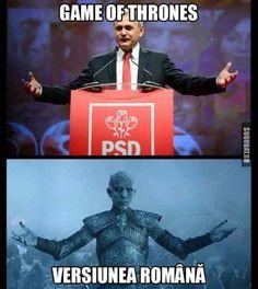 Game of Thrones - Versiunea Romana Game Of Thrones, Memes, Funny, Movie Posters, Meme, Film Poster, Funny Parenting, Hilarious, Billboard