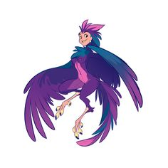 DAY 1 - Harpy by Yuliandress on deviantART