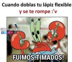 Yo tengo un lápiz flexible y aún no se me ha roto :D Para más imágenes graciosas visita: https://www.Huevadas.net #meme #humor #chistes #viral #amor #huevadasnet