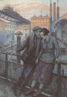 Hans Baluschek, Feierabend (Leisure-Time), 1925