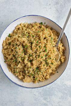 Instant Pot Quinoa Pilaf