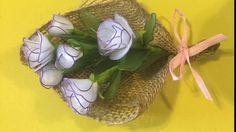 How to make a nylon stocking flowers - Jasmine