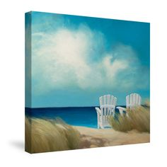 Transport yourself to the beach with this bright, relaxing scene. All of our products are digitally printed to create crisp, vibrant colors and images. Made to