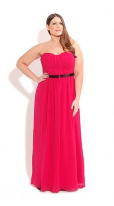 Plus Size Brittany Beaded Maxi - City Chic - City Chic