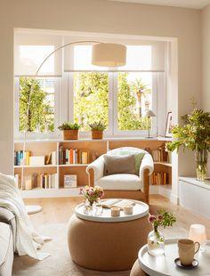 10 salones pequeños ¡con ideas geniales! · ElMueble.com · Salones