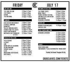 EXC Friday Schedule v3