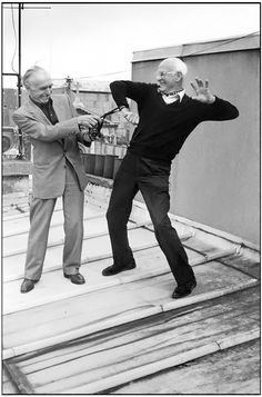 Robert Doisneau & Henri Cartier-Bresson 1996