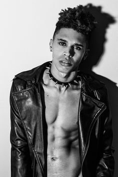 Nothing is better than seeing this alive. Model and professional dancer Devon Daniels portrayed by Christopher Marrs.
