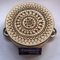 Hey, I found this really awesome Etsy listing at https://www.etsy.com/listing/247464278/henna-tambourine-henna-tambourine-music