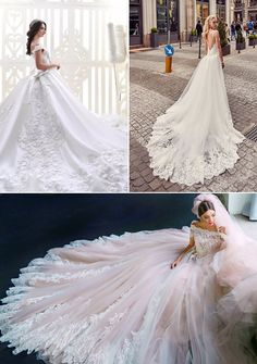 17 Distinctly Stunning Wedding Dresses with Breathtaking Patterns!