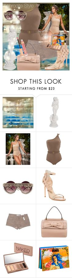 """""""Aphrodite Style"""" by anniecy ❤ liked on Polyvore featuring Ivy Kirzhner, Topshop, Valentino, Urban Decay, Lime Crime, Charlotte Tilbury, valentino, venus and aphrodite"""
