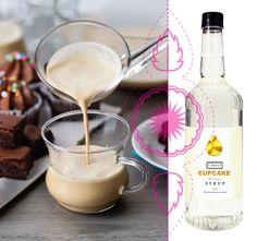 Syrop o smaku babeczki. Idealny do kawy z mlekiem. Syrup, Glass Of Milk, Drinks, Food, Drinking, Beverages, Essen, Drink, Meals