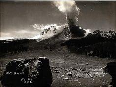 Lassen eruption in the News 100 years ago