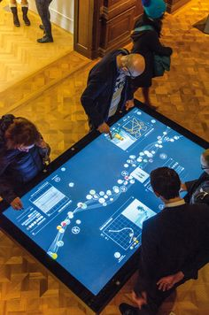 10 ways to boost your creativity with new tech | Graphic design | Creative Bloq- Local Projects used interactive tables to enable visitors to explore the Cooper Hewitt museum's collection