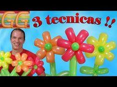 Como hacer un changuito en su palmera con globos 260 # 57 - YouTube