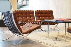 Vintage leather chairs Coco Sweet Dreams/Lily