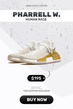 82cbd4e54 How to get new Human Race Adidas HU Holi Gold Happy   PW